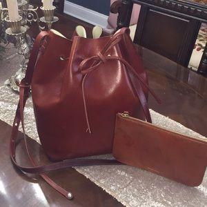 Authentic Mansur Gavriel Large Bucket Bag